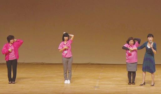 湘南記念病院 かまくら乳がんセンター長 ピンクリボンかながわ代表 土井卓子先生による講演